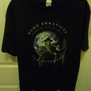 Ian Anderson HOMO Erraticus concert T-shirt  Large